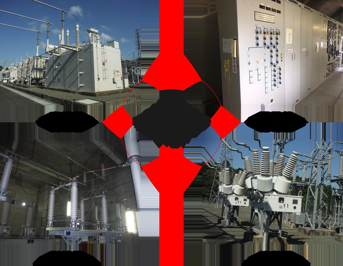 変電所の主な設備